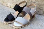 sandali con tacco 5