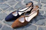 scarpe aperte ai lati