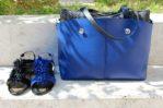 vetrina sandali con borsa di Ripani